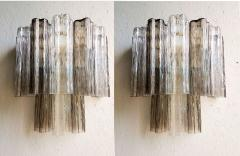 Paolo Venini Pair of Venini Tronchi Murano Glass Sconces Mid Century Modern - 644499
