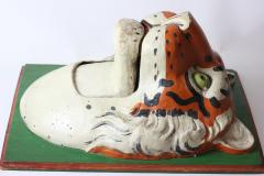 Paper Mache circus tiger wall mask 1890 Germany - 1518235