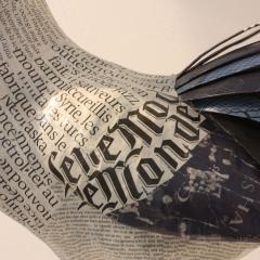 Papier M ch Rooster Le Monde - 1679415