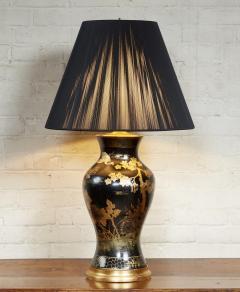 Papier Mache Vase as Lamp - 2020811