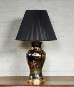 Papier Mache Vase as Lamp - 2020812