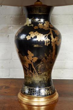 Papier Mache Vase as Lamp - 2020813