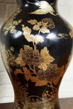 Papier Mache Vase as Lamp - 2020814