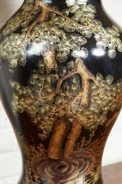 Papier Mache Vase as Lamp - 2020815
