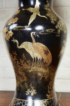 Papier Mache Vase as Lamp - 2020817