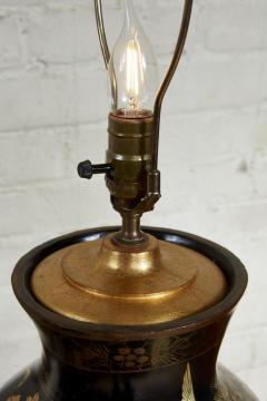 Papier Mache Vase as Lamp - 2020818
