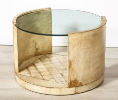 Parchment Low Table - 2015697