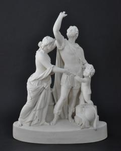 Parian Coriolanus and Virgilia - 540944