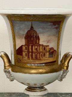 Paris Porcelain Urn France Circa 19th Century - 1450143