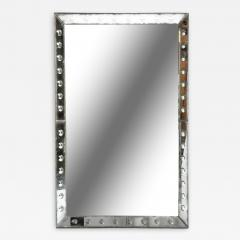 Parisian Mirror with Studded Glass Frame - 1194650