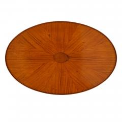Parquetry circular side table - 1443578