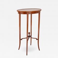 Parquetry circular side table - 1443812