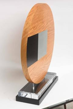 Pascal Pierme American Abstract Wood Sculpture on Stand Pascal Pierme - 364501
