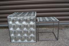 Patricia Urquiola Pair of Lens Side Tables by Patricia Urquiola for B B Italia - 2030937