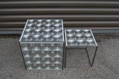 Patricia Urquiola Pair of Lens Side Tables by Patricia Urquiola for B B Italia - 2030939