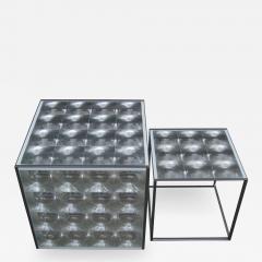 Patricia Urquiola Pair of Lens Side Tables by Patricia Urquiola for B B Italia - 2040982