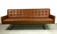 Incroyable Patrician Furniture Co Cinnamon Brown Sled Base Sofa By Patrician   219121