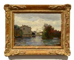 Paul Camille Guigou Mill Along the River - 1448197