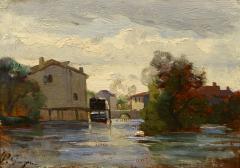 Paul Camille Guigou Mill Along the River - 1448198