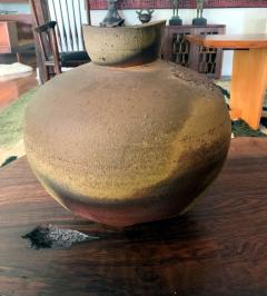 Paul Chaleff Wood fired Ceramic Jar Paul Chaleff - 1074722