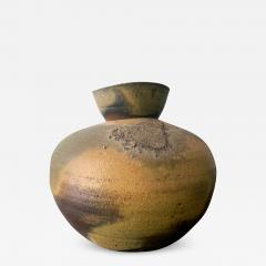 Paul Chaleff Wood fired Ceramic Jar Paul Chaleff - 1074963