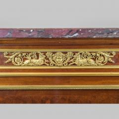 Paul Charles Sormani Gilt Bronze Mounted Parquetry Meuble d Appui by Sormani - 1990658