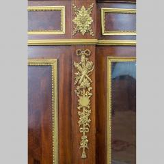 Paul Charles Sormani Gilt Bronze Mounted Parquetry Meuble d Appui by Sormani - 1990659