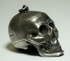 Paul Ditisheim Skull Pocket Watch by Paul Ditisheim - 299824
