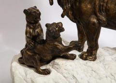 Paul Edouard Delabriere Paul Edouard Delabriere French 1829 1923 Large Bronze Sculpture of A Lion - 2137786