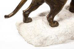 Paul Edouard Delabriere Paul Edouard Delabriere French 1829 1923 Large Bronze Sculpture of A Lion - 2137794