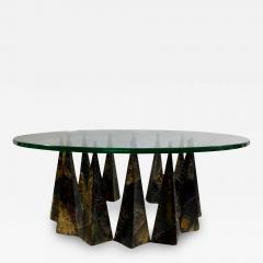 Paul Evans A Rare Sculpted Pyramid Coffee Table by Paul Evans for Directional - 479697
