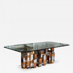 Paul Evans Cityscape Dining Table By Paul Evans For Directional Furniture    334389