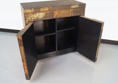 Merveilleux Paul Evans Exceptional Patchwork Flip Top Bar Cabinet By Paul Evans   199913