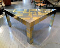 Paul Evans Illuminated Cityscape Corner Table by Paul Evan - 958204