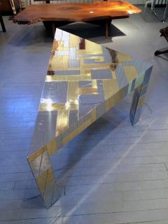 Paul Evans Illuminated Cityscape Corner Table by Paul Evan - 958206