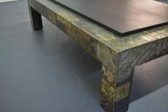 Paul Evans Large Paul Evans Slate Top Patchwork Coffee Table - 1470143