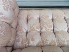 Paul Evans Magnificent Paul Evans Directional Biscuit Tufted Party Loveseat Sofa Modern - 1520120