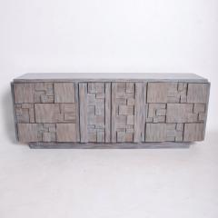 Paul Evans Mid Century Brutalist Dresser Lane Patchwork Walnut Tiles After Paul Evans - 1062586