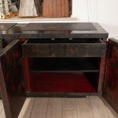 Paul Evans Model PE 40A brutalist patchwork cabinet - 1306186