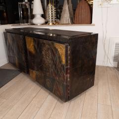 Paul Evans Model PE 40A brutalist patchwork cabinet - 1306188
