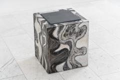 Paul Evans Paul Evans Argente Cube Table PE 37 USA - 1630488