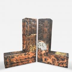 Paul Evans Paul Evans Brutalist Style Bookends - 144296