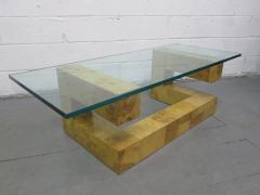 Paul Evans Paul Evans Burl Wood Coffee Table - 1133325