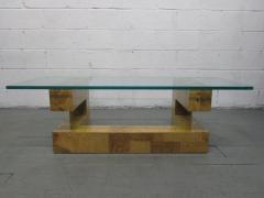 Paul Evans Paul Evans Burl Wood Coffee Table - 1133327