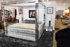 Paul Evans Paul Evans Cityscape King Size Bed Frame Signed - 1457823