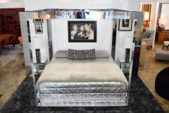 Paul Evans Paul Evans Cityscape King Size Bed Frame Signed - 1457824
