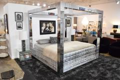 Paul Evans Paul Evans Cityscape King Size Bed Frame Signed - 1457825