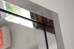 Paul Evans Paul Evans Cityscape Mirror in Chrome Signed - 1492176