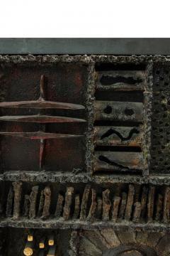 Paul Evans Paul Evans Custom Sculpture Front Two Door Cabinet for Directional - 1141951