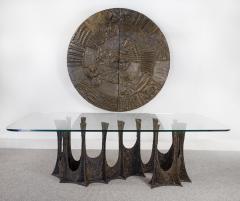 Paul Evans Paul Evans Dining Set in Sculpted Bronze 1969 - 1635534